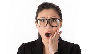 Shocked Lady