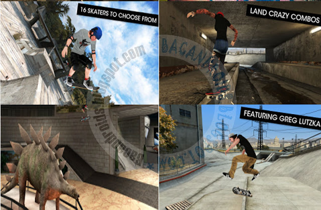 Link Download Game Skateboard Party 3 Pro v1.0.7 Apk Mod Unlimited Experience Terbaru For Android: