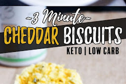 #TOPRECIPES 3 MINUTE LOW CARB BISCUITS
