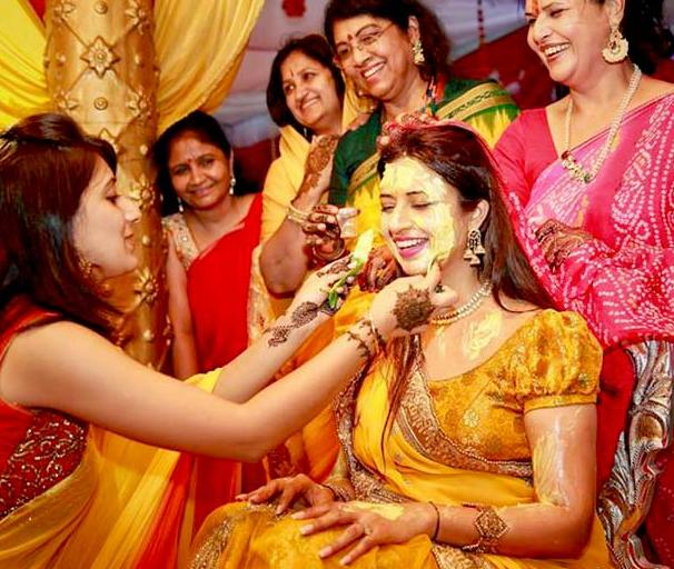 The Application Of Turmeric Ensures That One Has Glowing And Radiant Skin On Their Wedding Day