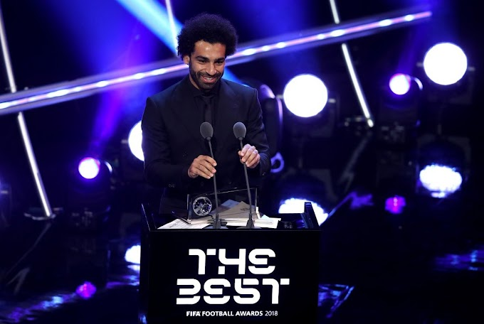 #FIFAFootballAwards 2018: Mohamed Salah wins Puskas Award for best goal at FIFA's The Best Awards + Full List of winners