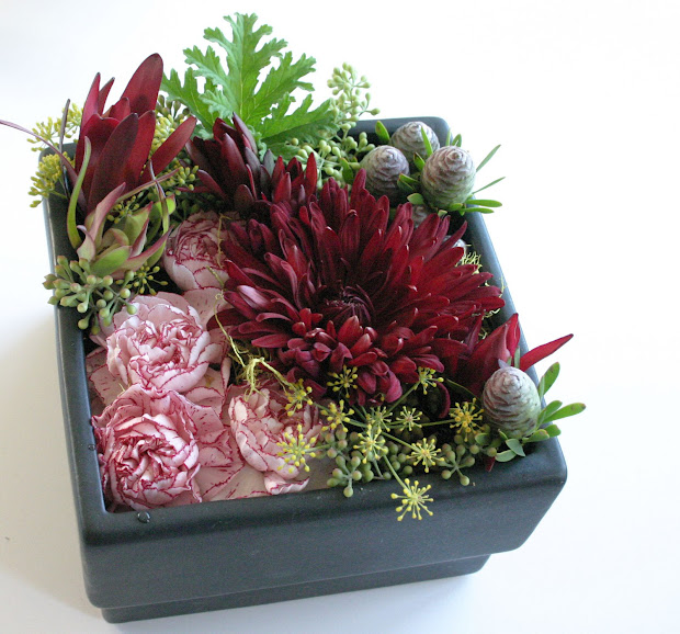 Pave Design Floral Arrangement