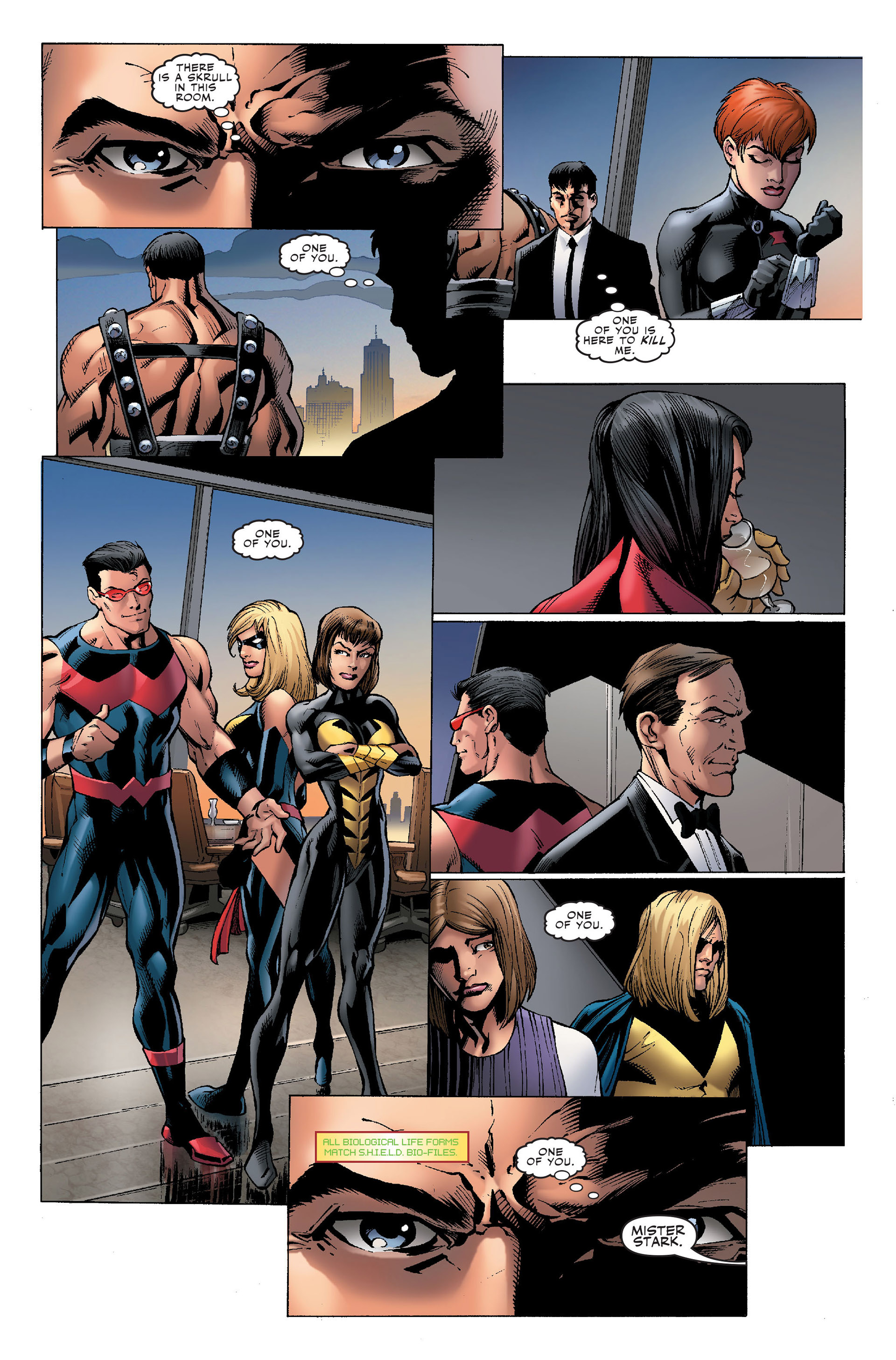 Read online Secret Invasion: The Infiltration comic -  Issue #1 - 21