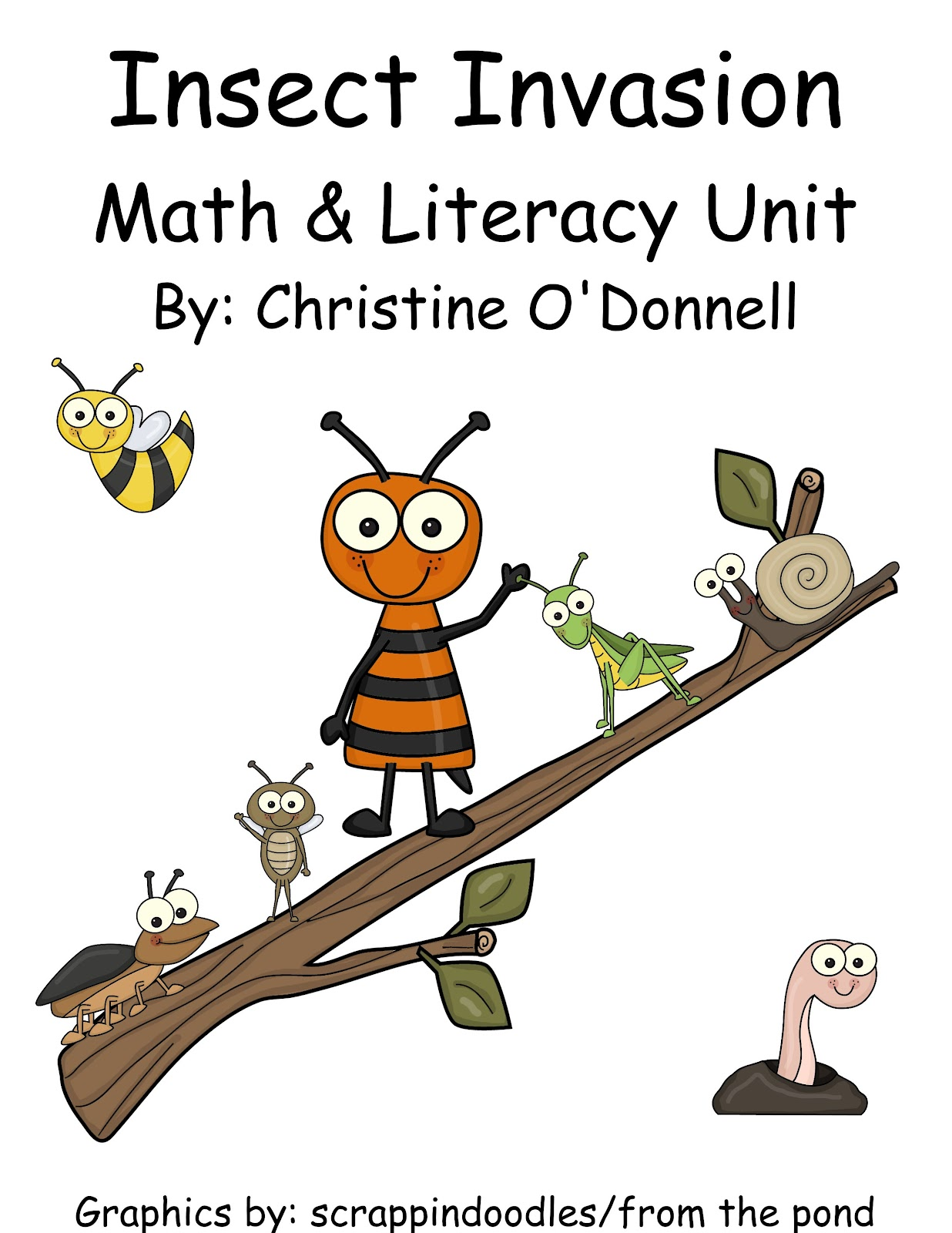 The Crazy Pre K Classroom Insect Invasion Bugs Math And