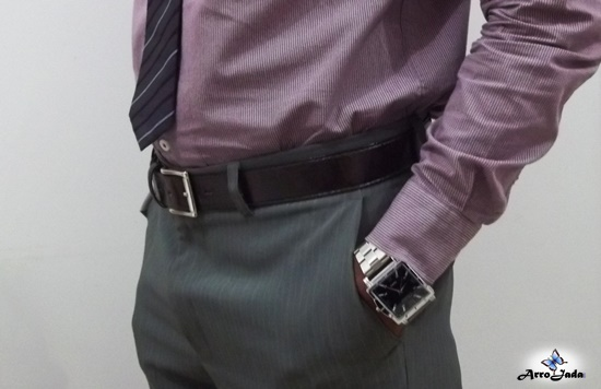 Relógio Masculino em Aço inoxidável