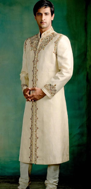 Usama Sherwani Designs 2013 2014 For Men All The Latest