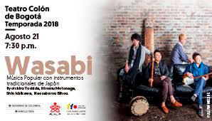 Concierto de WASABI | Teatro Colon