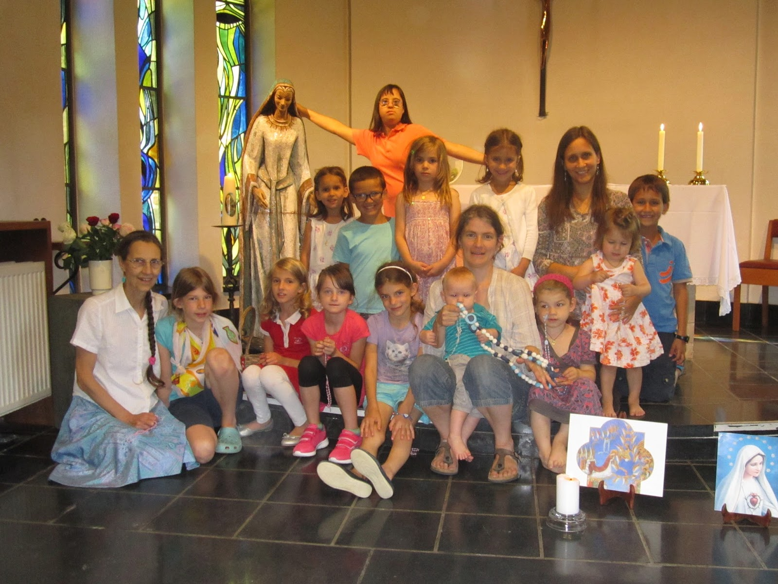 Reflections from the First Children's Rosary Meeting in Belgium