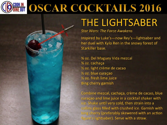Oscar Cocktails Star Wars: The Force Awakens The Lightsaber