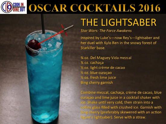 Oscar Cocktails Star Wars: The Force Awakens The Lightsaber