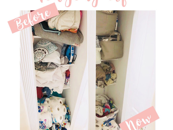 Tidying Up - Our Linen Closet