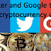 Twitter and Google to ban cryptocurrency ads following Facebook