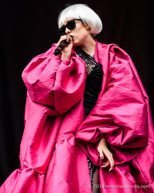 Allie X on the Garrison Stage at Field Trip 2018 on June 3, 2018 Photo by John Ordean at One In Ten Words oneintenwords.com toronto indie alternative live music blog concert photography pictures photos