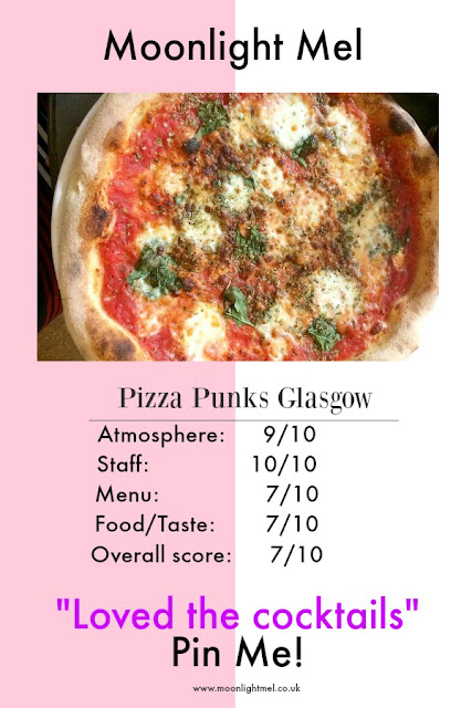 Pizza Punks Glasgow review