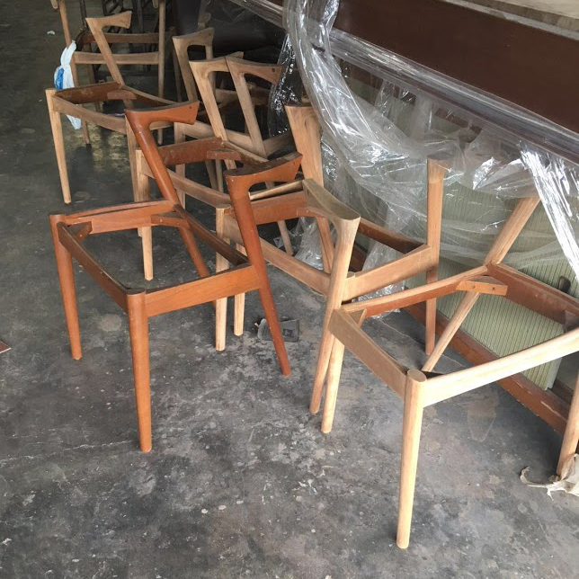 The curiousity shop vintage gallery for Z shaped dining chair