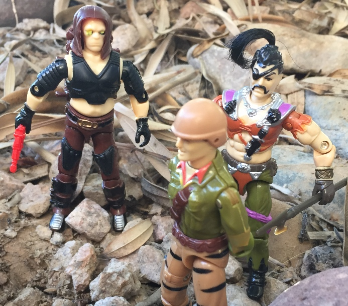1987 Zanzibar, Dreadnok Pirate, 1988 Tiger Force Duke, 2001 Funskool Zartan, India