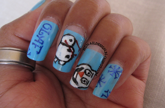 http://hgnaildesign.blogspot.com/2014/12/frozen-olaf-movie-inspired-nailart.html