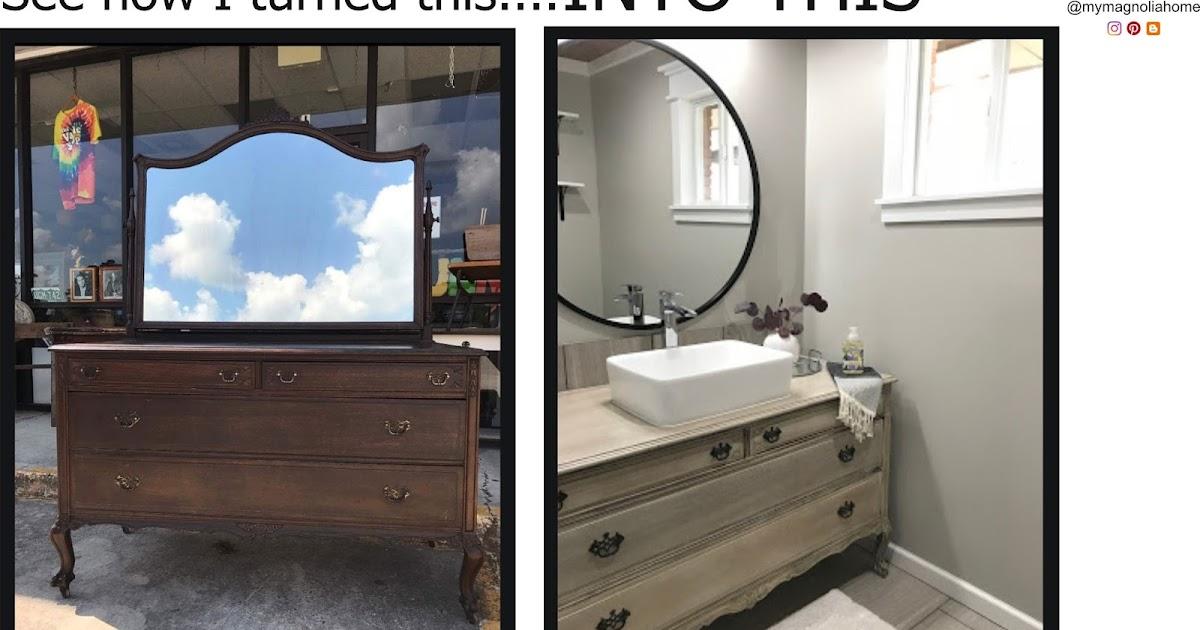 My Magnolia Home Diy Bathroom Vanity