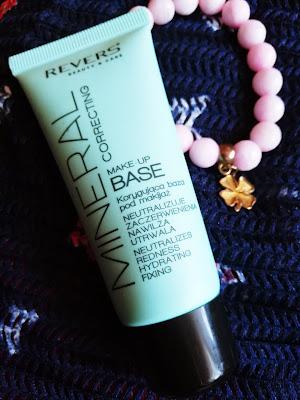 Recenzja: Korygująca baza pod makijaż MINERAL CORRECTING MAKE-UP BASE- Revers Cosmetics