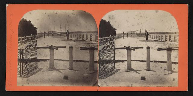 Винтажные турникеты — Променад по набережной Charleston Battery