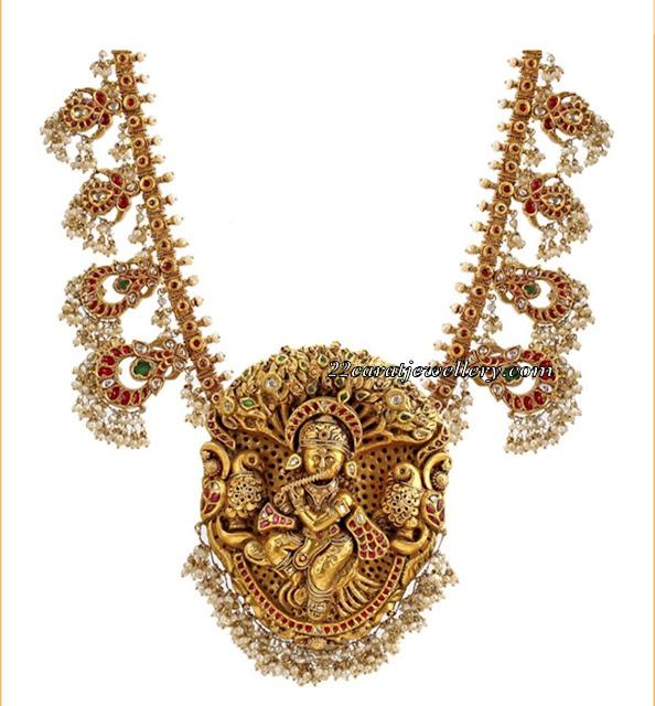 Guttapusalu with Krishna Pendant
