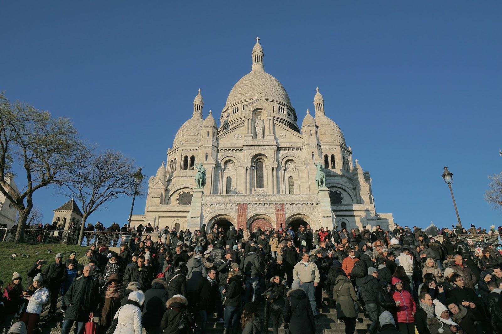 サクレ・クール寺院 (Basilique du Sacré-Cœur de Montmartre)