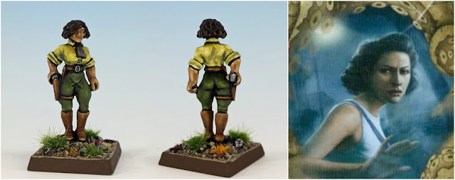 Rita Young, the athlete painted miniature