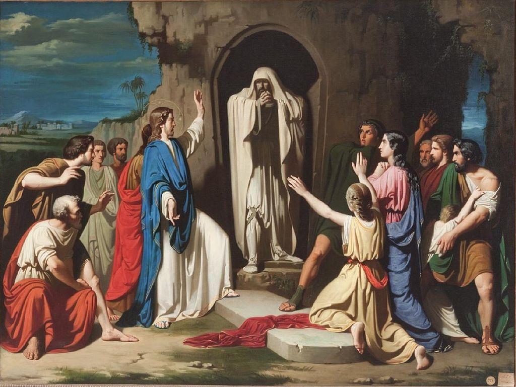 MÉDITATIONS POUR CHAQUE JOUR DE CARÊME par ST. THOMAS D'AQUIN, O.P.  - Page 2 Lazarus%2Bresurrected