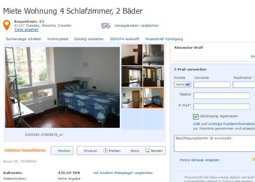 Wohnung Dresden Altstadt