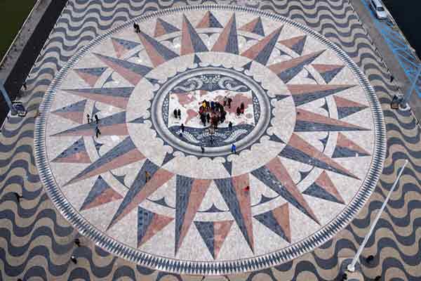 Mosaico junto a la Torre de Belem