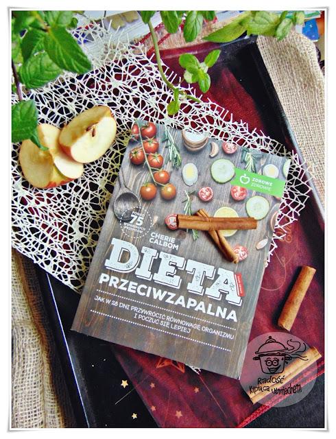 Naleśniki jabłkowe i recenzja książki Dieta przeciwzapalna od wyd. M