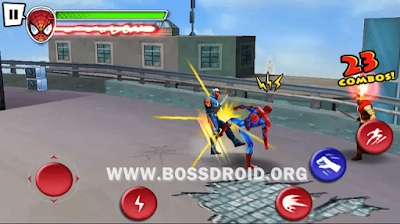 ultimate spiderman total mayhem apk