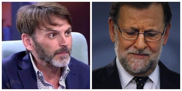 Fernando Tejero y Rajoy en imagen