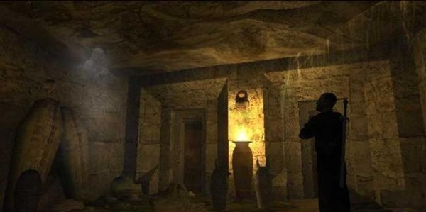 Ancient Tomb Lamps Still Found Burning