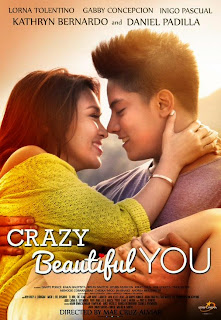 Crazy Beautiful You movie poster