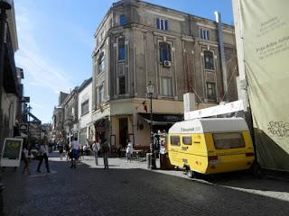 Bucarest roulotte