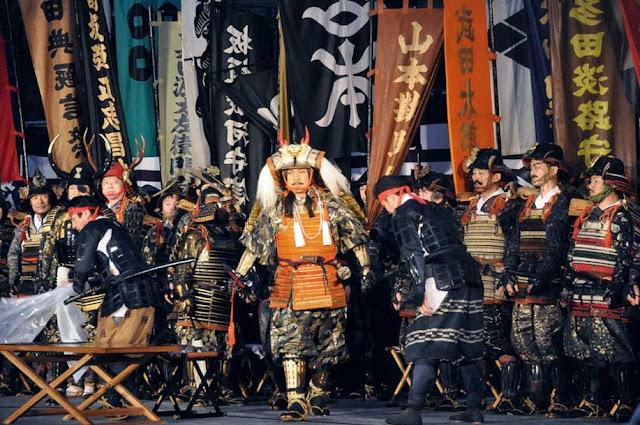 Shingen-kou Matsuri (Takeda SHINGEN Festival), Kohfu City, Yamanashi