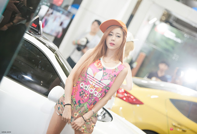 1 Kim Ha Yul - Seoul Auto Salon 2016 - very cute asian girl-girlcute4u.blogspot.com