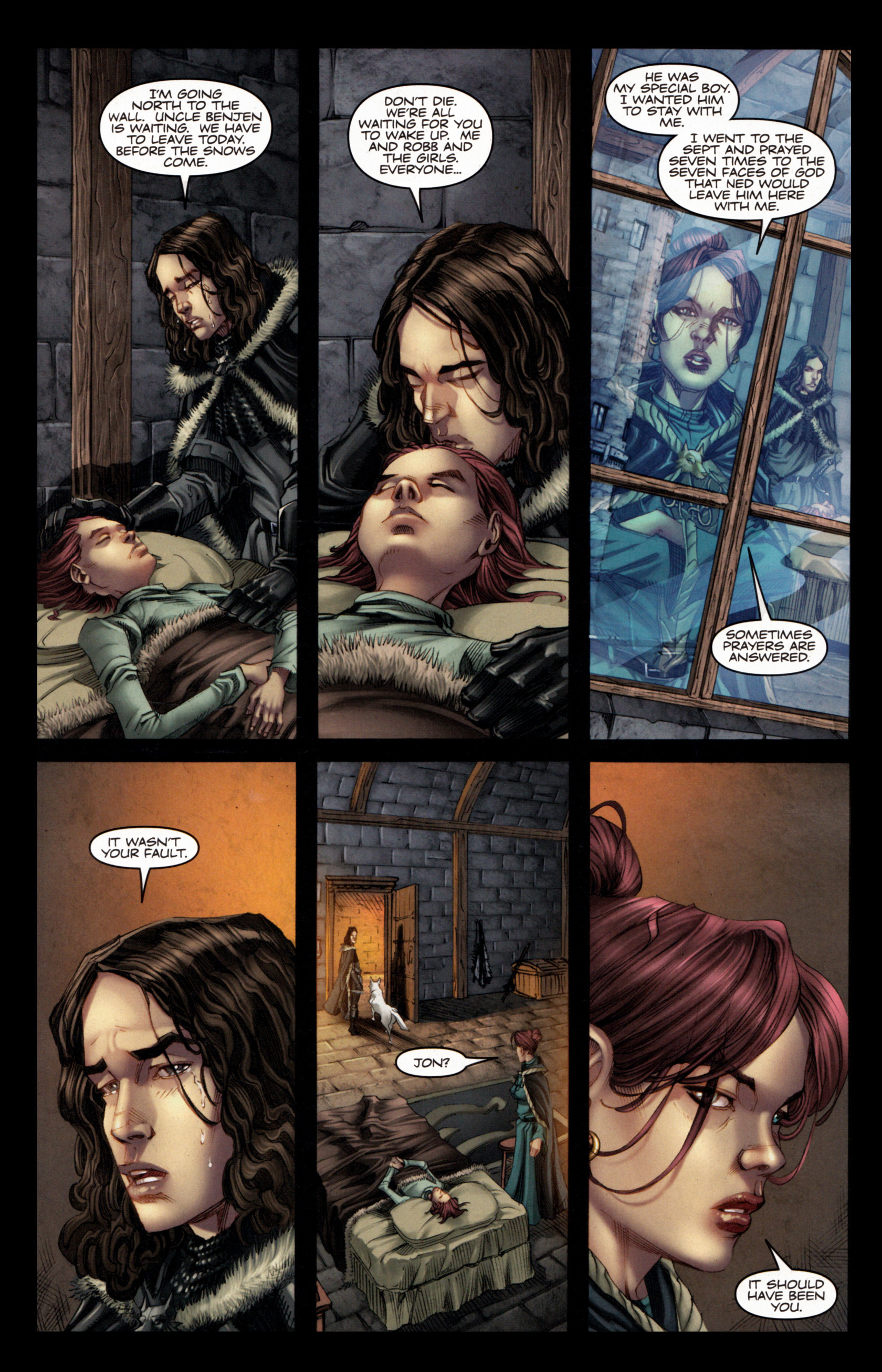 Read online A Game Of Thrones comic -  Issue #4 - 5