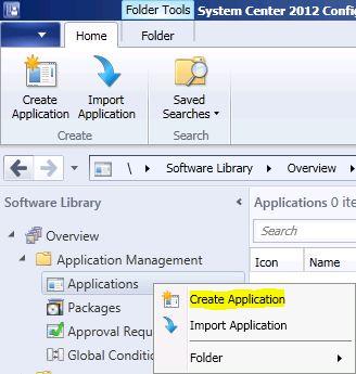 Deploy an App Using the Web Portal in SCCM 2012 | NETvNext Blog