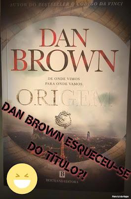 Livro de Dan Brown Perde cor