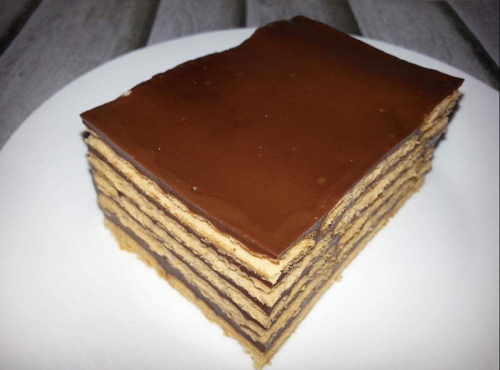 Tarta de la abuela tarta de galletas y chocolate for La cocina dela abuela paca