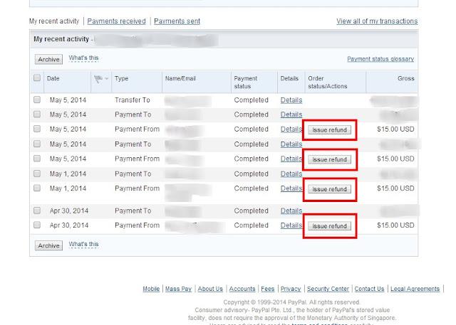 How blogrcart template download handle refunds if unsatisfactory