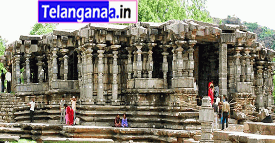 Thousand Pillars Temple in Telangana Warangal