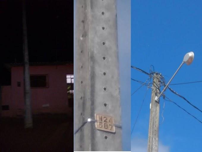 Moradores da rua Ariamiro de Almeida denunciam a falta de luz, cadê o Disk luz que foi implantado na câmara de vereadores pelo governo municipal?