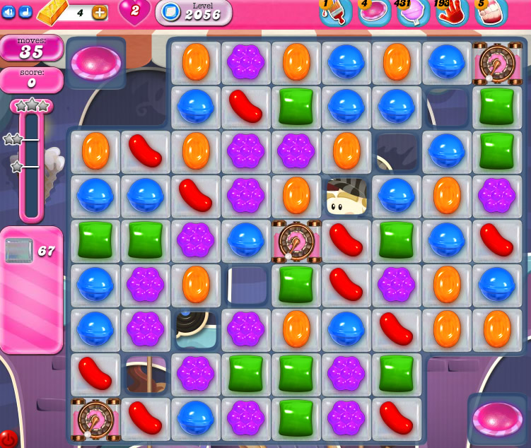 Candy Crush Saga 2056