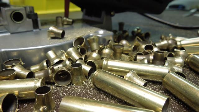 300 BO, reloading, handloading, case prep, trim, form, wildcat, cutoff, die, jig, saw, 5.56, .223, NATO