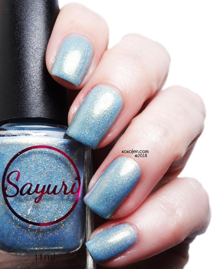 xoxoJen's swatch of Sayuri Nail Lacquer My Precious Secret