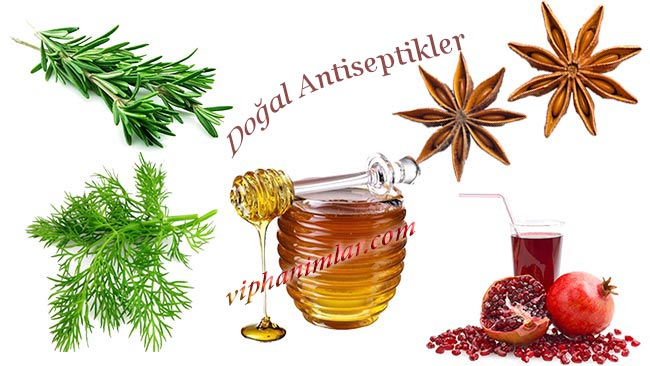 Evimizdeki Doğal Ve Etkili Antiseptikler