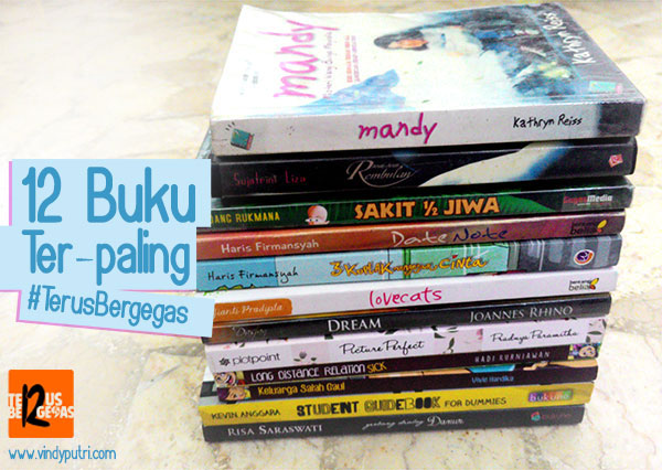 12 Buku Ter-Paling #TerusBergegas Gagas Media by Vindy Putri